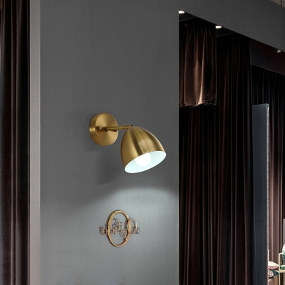 Brass Gold Wall Sconce 4