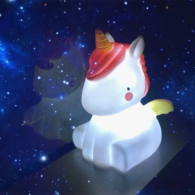 Lovely Mini Swan/Unicorn/Dinosaur Baby Kids Sleeping Night Light Battery-Operated 5 Styles for Option