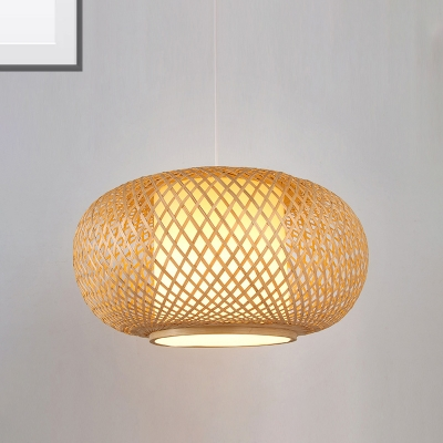 Natural Wood Coffee Brown Lantern