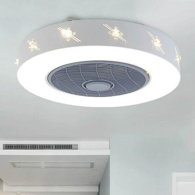 Lighting Fixture Modern Led Ceiling Fan