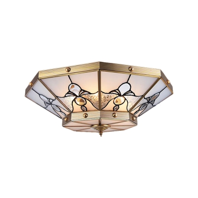 Colonialism Cone Ceiling Mounted Light 16