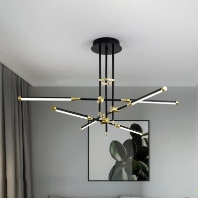 Stick Chandelier Light Fixture