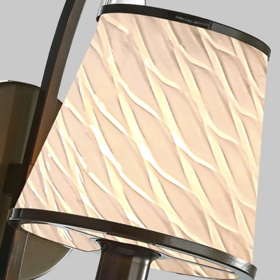 Beige/Blue/Green Conical Shade Wall Lamp Modern Style Handblown Glass 1 Light Indoor Wall Sconce