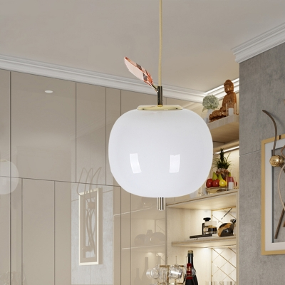 Apple Dining Room Hanging Lamp White Glass Led Contemporary Pendant Lighting Fixture Beautifulhalo Com,Kitchen Corner Cabinet Storage Solutions