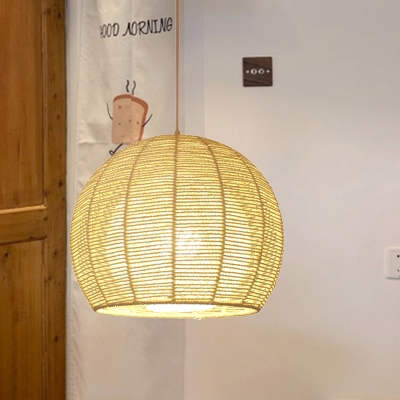 Bamboo 1 Head Ceiling Pendant Light