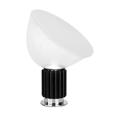 Dome Task Lighting Modernism Clear Glass 14.5
