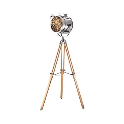 1 Bulb Standing Floor Lighting, Tripod Spotlight Floor Lamp The Range