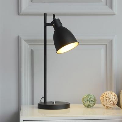 1 Light Table Lamp Vintage Bedroom