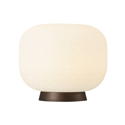 Contemporary Style Drum Shaped Night Table Lamp Acrylic Living Room LED Creative Desk Light
