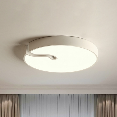Simplicity Circular Flush Ceiling Light Acrylic 16