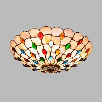 Bowl Flush-Mount Ceiling Light 16