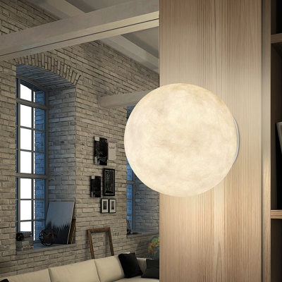 Nordic Planet Wall Light Sconce Resin 6