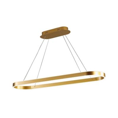 Oblong Kitchen Bar Pendant Light Acrylic 31.5