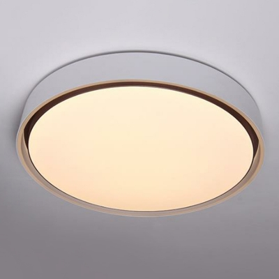 Simplicity LED Ceiling Lamp Round Flush Mount Lighting Fixture with Acrylic Shade
