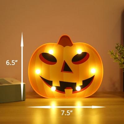 Halloween Modeling Bedroom Night Lamp Plastic Decorative LED Festive Lighting with Hook