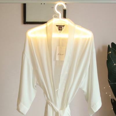 Hanger Neon Night Light Decorative Plastic White LED Festive Lighting for Bedroom
