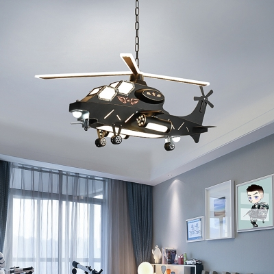 Childrens Toy Modeling Chandelier Metal Boys Girls Bedroom Hanging Ceiling Light