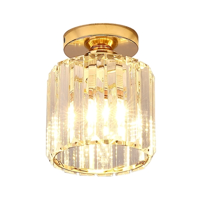 Luxurious Glass Semi Flush Ceiling Light Makes Magnificent Impression in Any Elegant Home