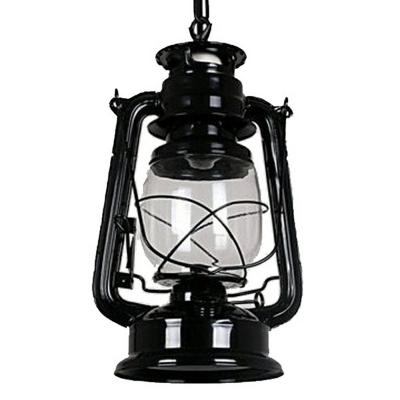 Kerosene Pendulum Light Nautical Clear Glass 1 Bulb 6.5 Inchs Wide Bedroom Hanging Pendant