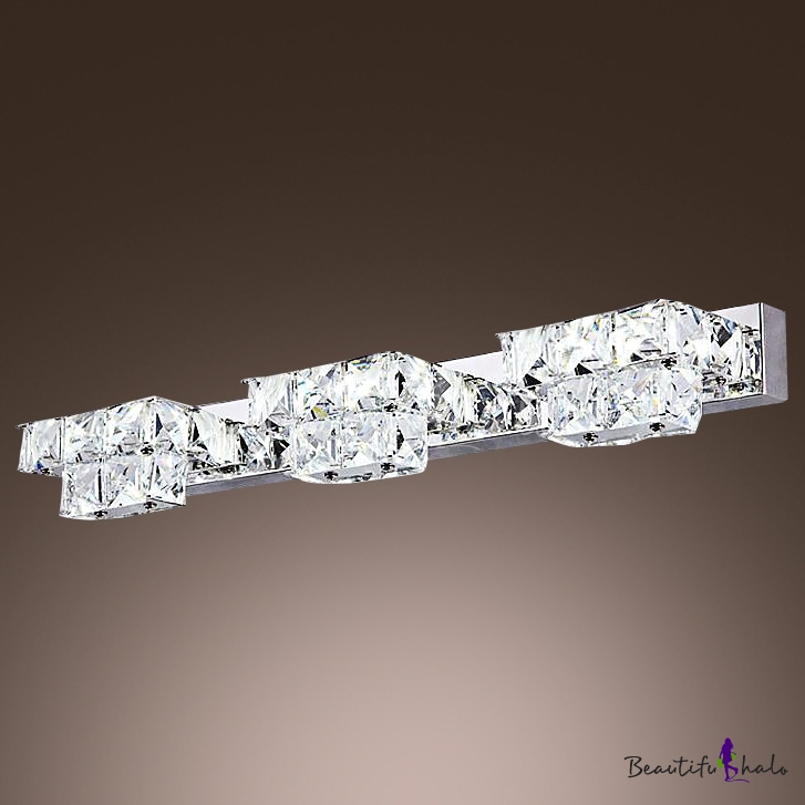 Make Elegant Crystal Bath Light the Highlight of Your Bathroom