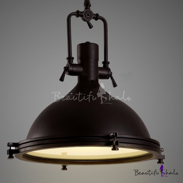 Superb Nautical Pendant Light With Frosted Diffuser