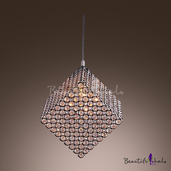 Cool modern stunning chandelier featuring spectacular cube frame and cool modern stunning chandelier featuring spectacular cube frame and glittering crystals beautifulhalo aloadofball Image collections