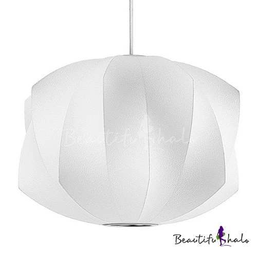 Buy Propeller Silk Pendant White Designer