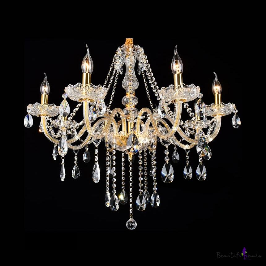 buy 3 light crystal chandelier floral french lustre cristal suspension hanging lamp md2367. Black Bedroom Furniture Sets. Home Design Ideas