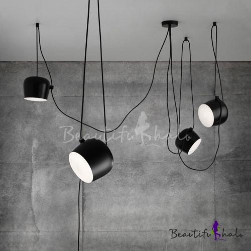 Fashion style multi light pendants modern lighting beautifulhalo break tradition blackwhite hanging light 4 light aloadofball Gallery