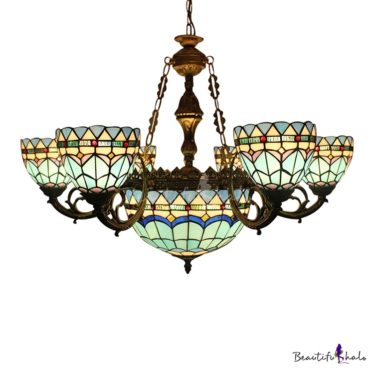 7 9 Head Dining Living Room Up Down Lighting Mediterranean