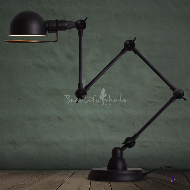 Vintage Task 1 Light Floor Lamp In, Vintage Task Floor Lamp