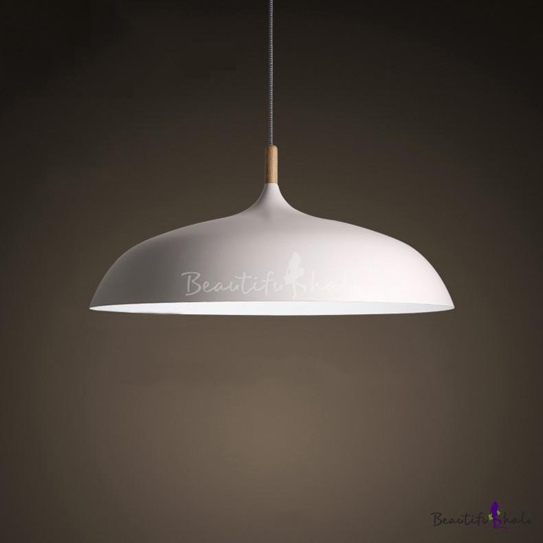 Northern Style Lighting White LED Pendant Light Ceiling