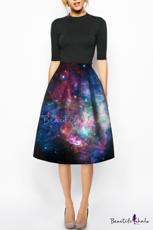 Fashion Style Midi Skirts - Beautifulhalo.com