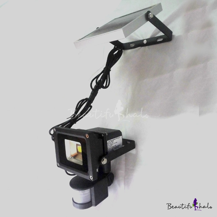 Buy Motion Sensor Super Bight Outside Solar Powered LED Wall Mount Flood Lighting