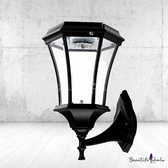 Stylish Black Finish 21'' H Large Cheap LED Solar