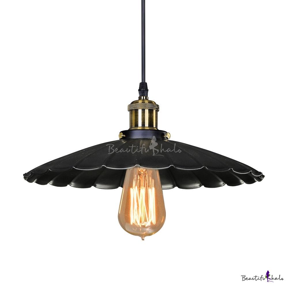Commercial Light Fittings Nz: Single Round Edison Retro Pendant For Down Lighting