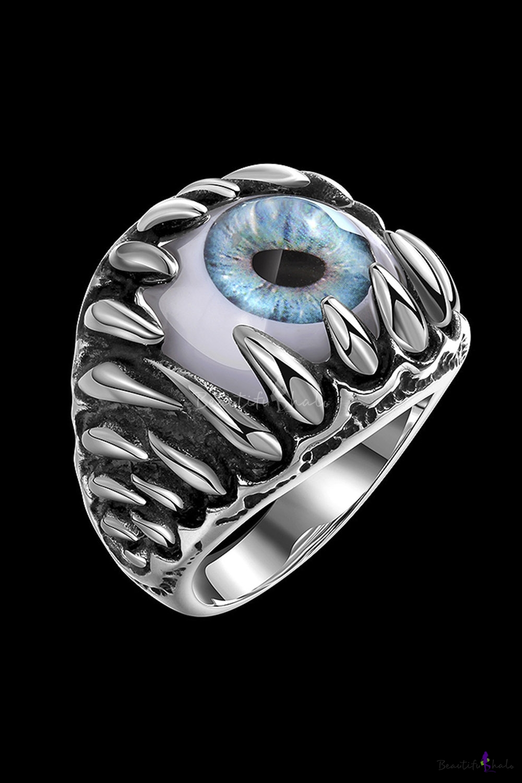 Retro Devil S Eye Design New Style Ring For Men