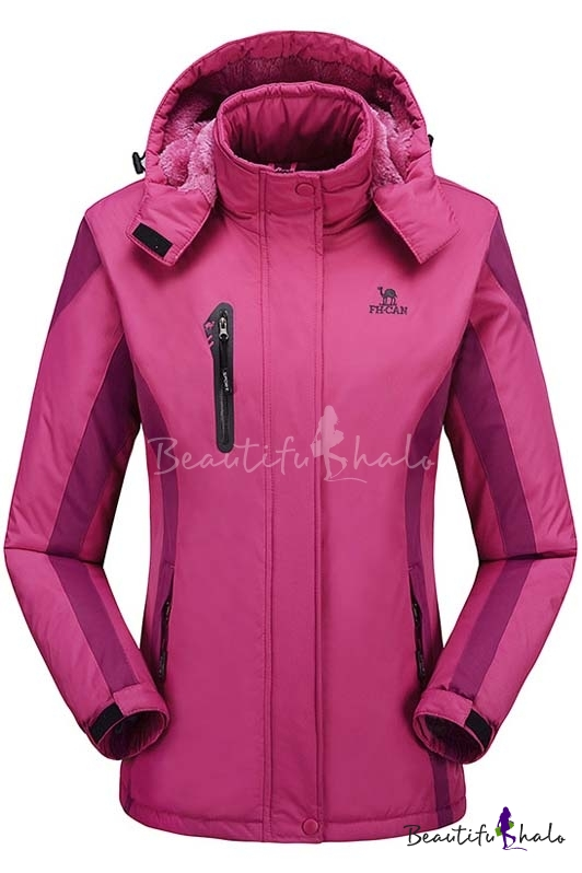 Buy Womens Waterproof Windproof Snow Fleece Jacket Ski Outdoorwear