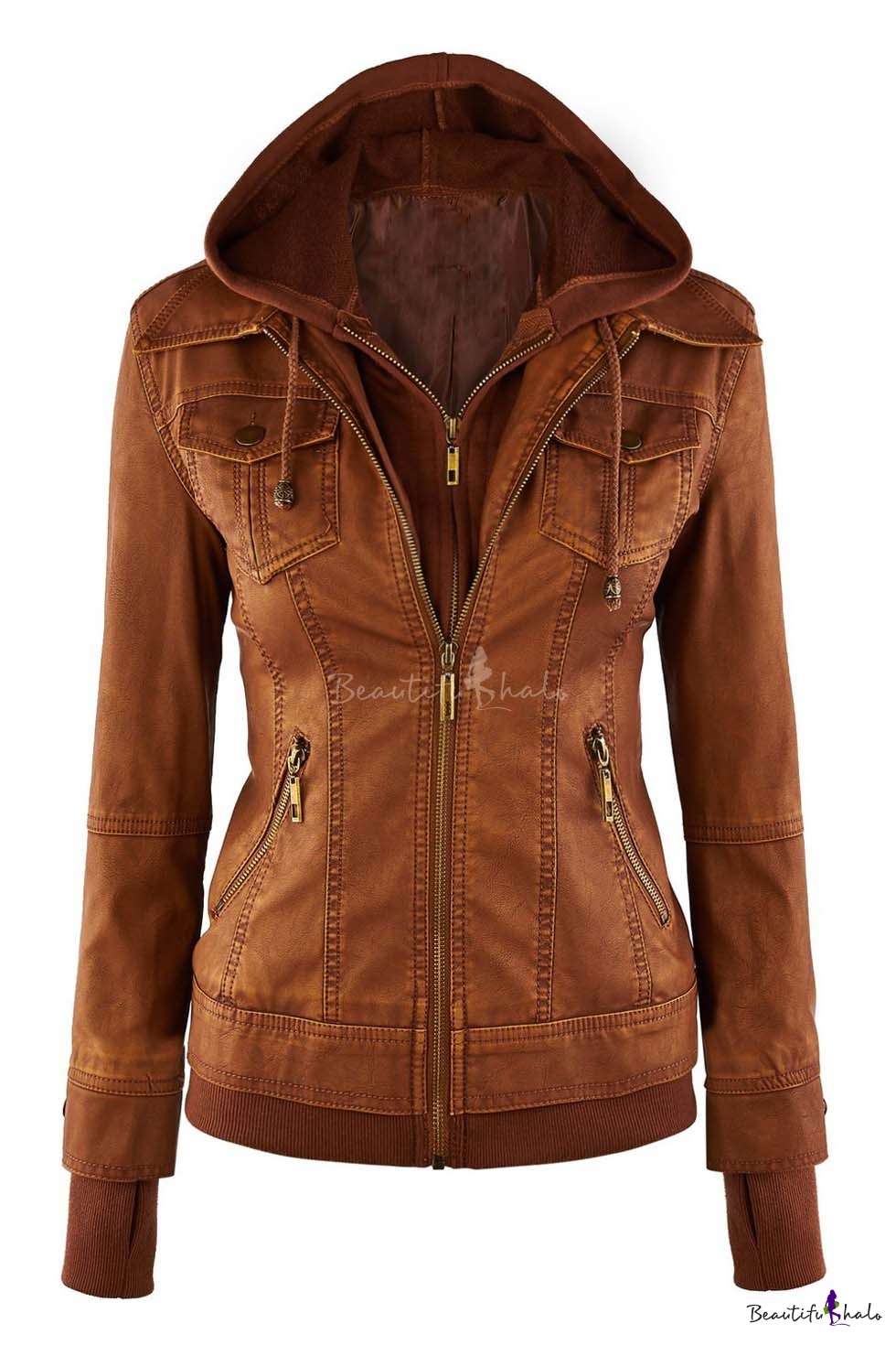 From bomber jackets, to motorcycle styles, studded collars, and colored leather, you'll find a variety of women's leather coats on worldofweapons.tk Sorted into convenient categories, we feature contemporary, relaxed, and timeless styles that never go out of fashion.