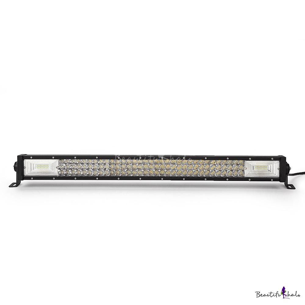7D+ 32 Inch Combo Beam LED Work Light Bar 405W 3-Row 30