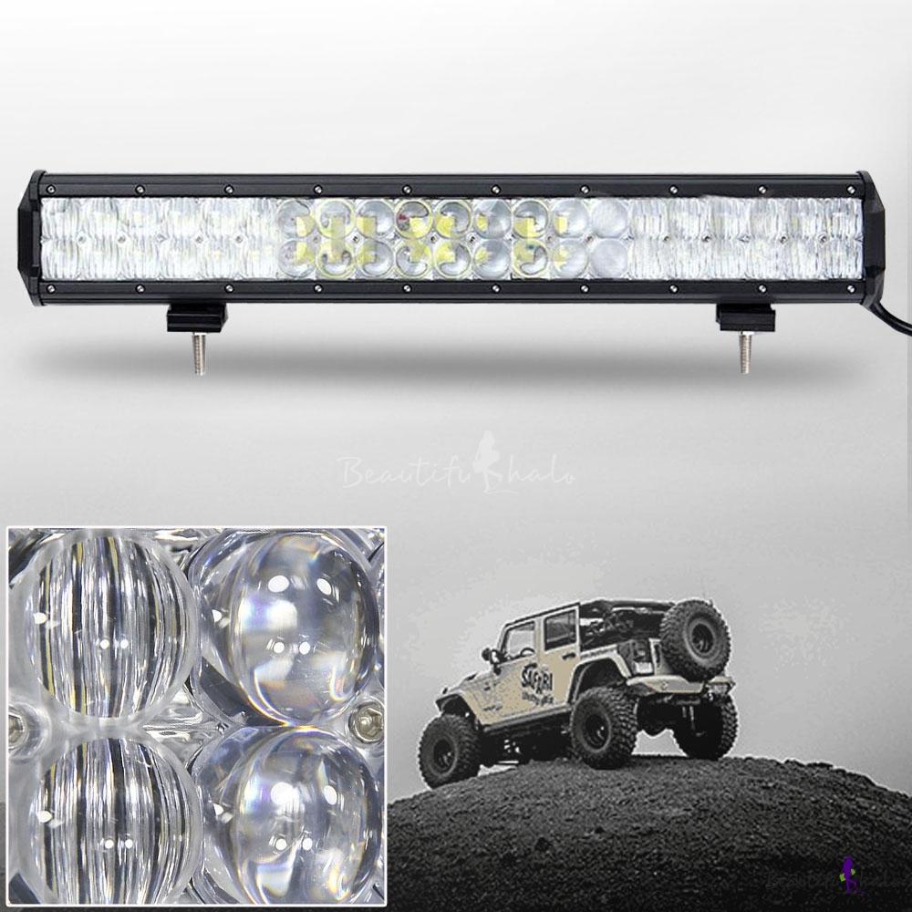 5d 20 inch off road led light bar cree led 126w 30 degree. Black Bedroom Furniture Sets. Home Design Ideas
