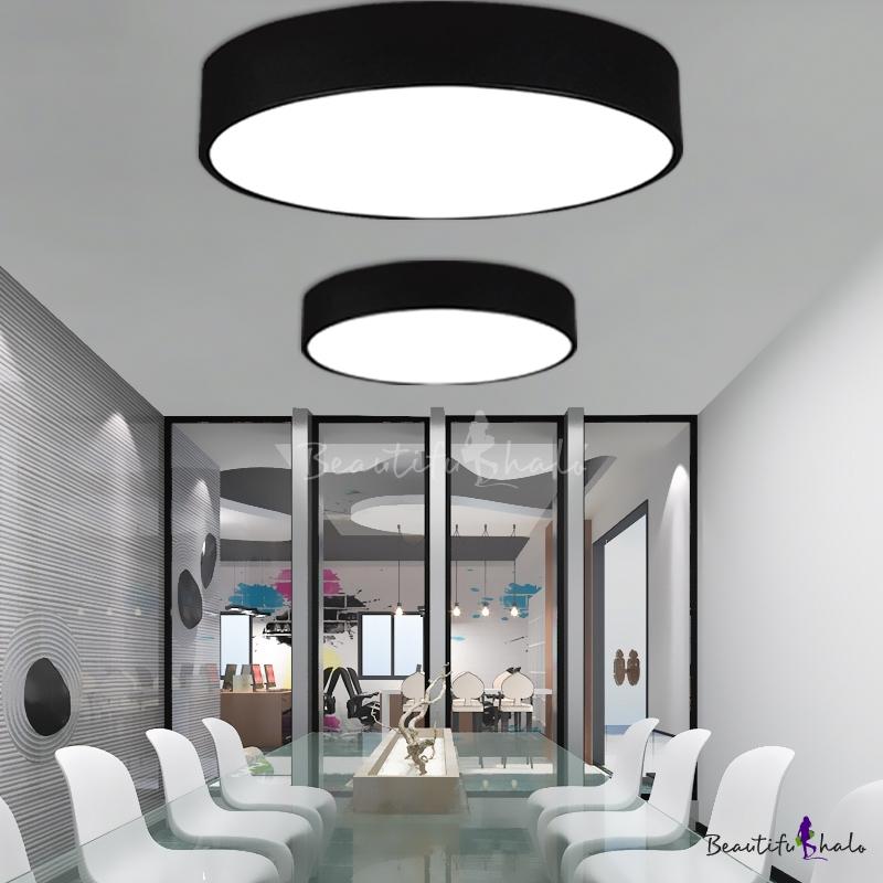 Acrylic Lampshade Black Finish Bright