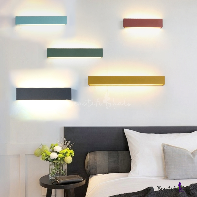 Multi Color Modern Led Linear Wall Light 14 12 Quot 19 69 Quot 28