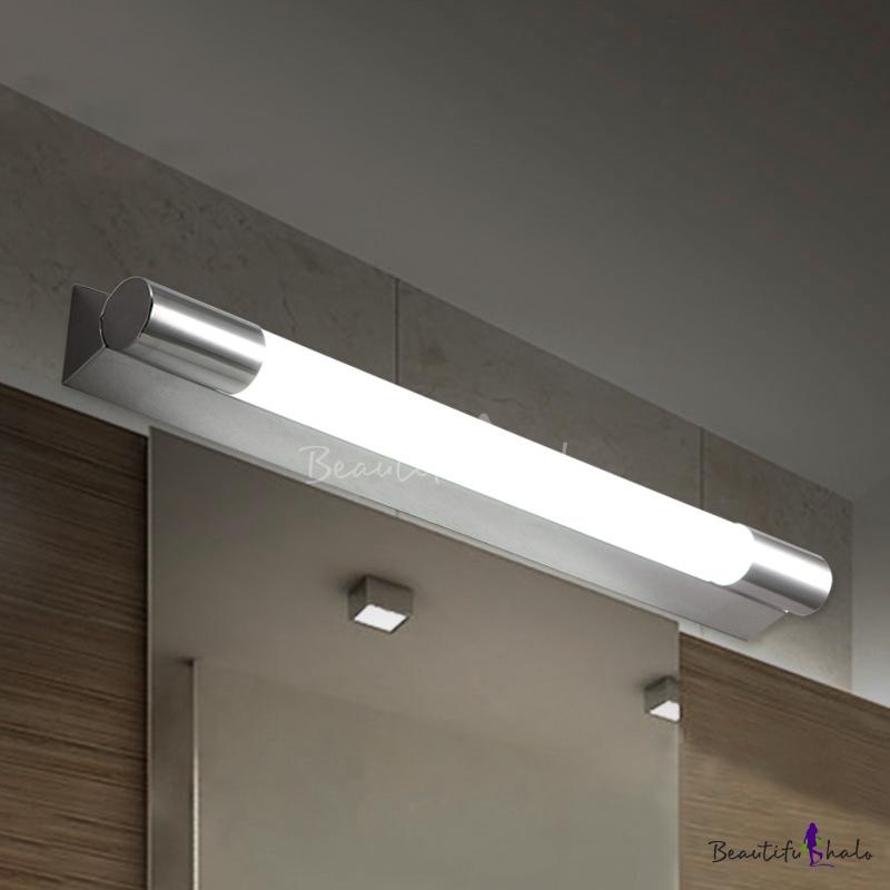 Mirror Bathroom Vanity Lights Waterproof Stainless Steel Tube Led Vanity 19 69 22 84 Long 10w 12w Modern Linear Vanity Light Beautifulhalo Com