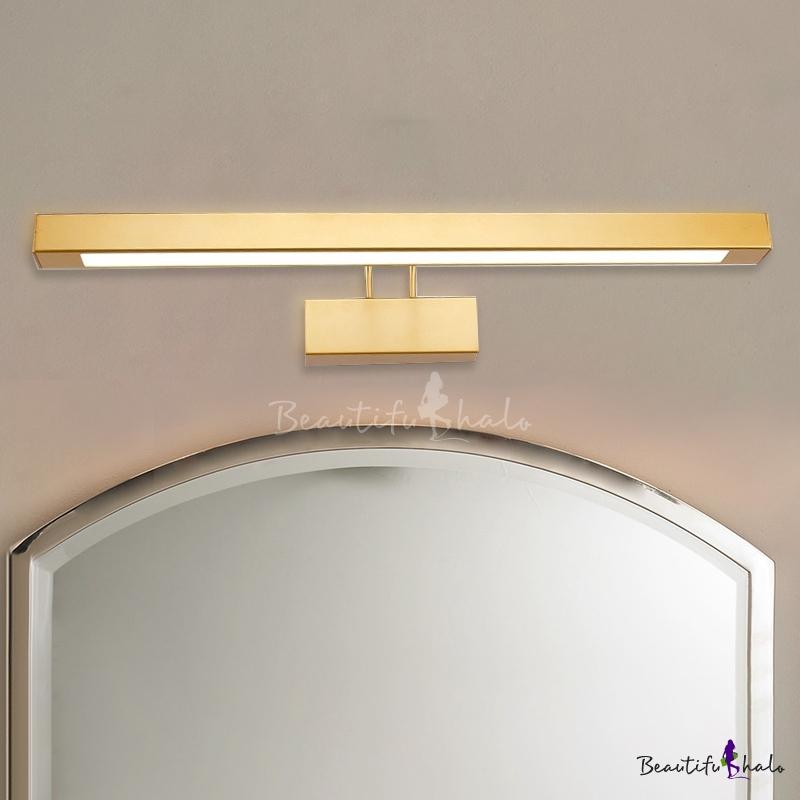 Post Modern Bathroom Vanity Light