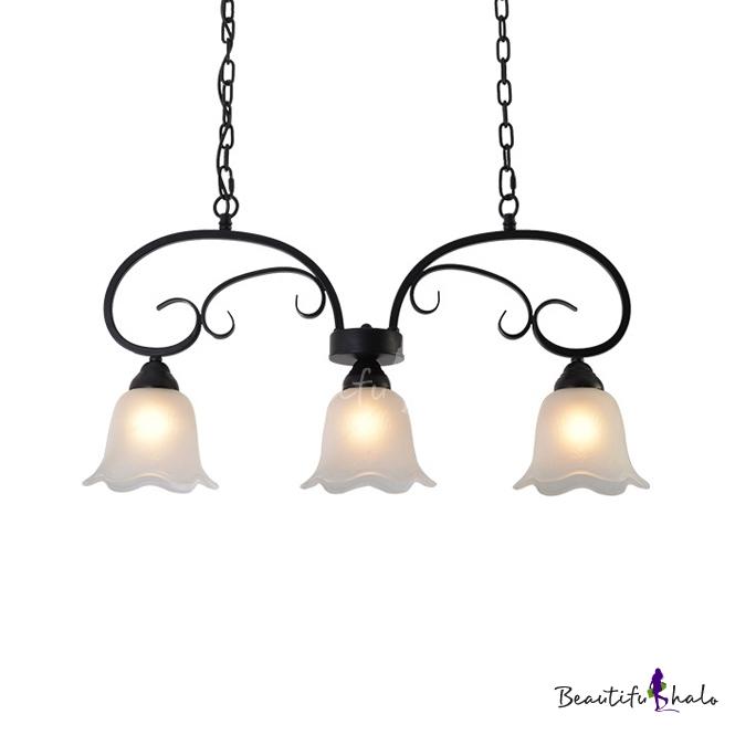 Vintage Bell Pendant Lights Gl 3