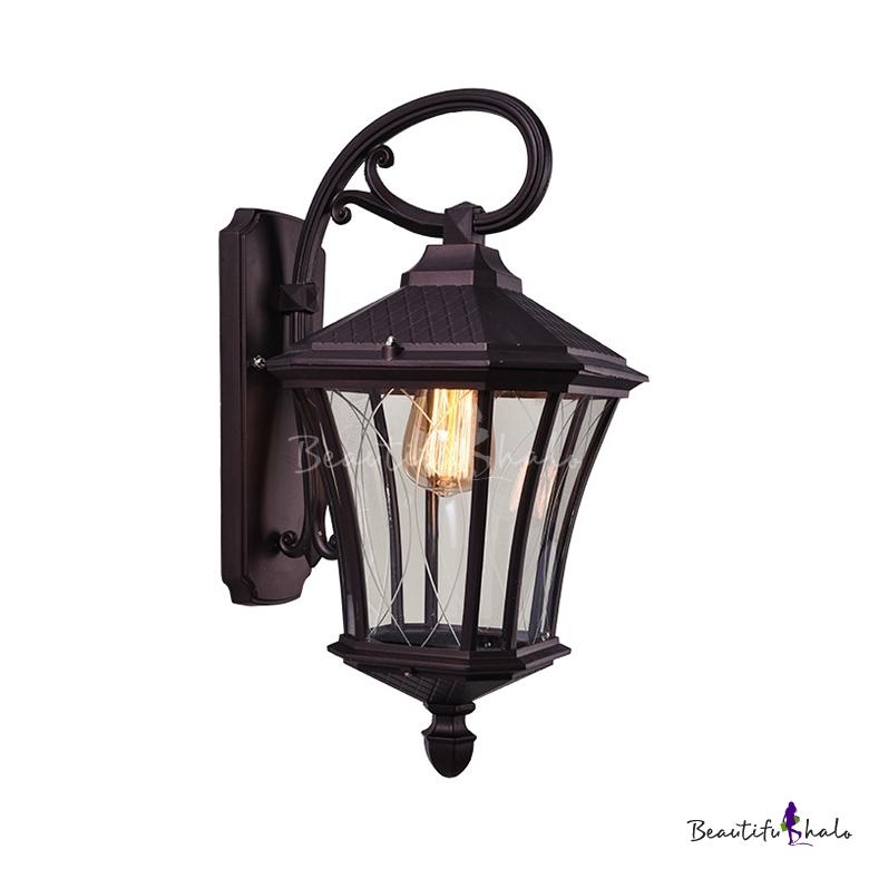 Lantern Security Light Metal Waterproof