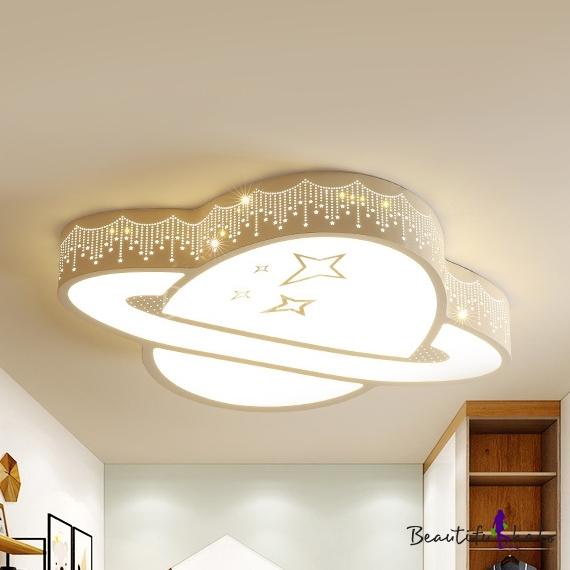 Planet Flush Ceiling Light Acrylic