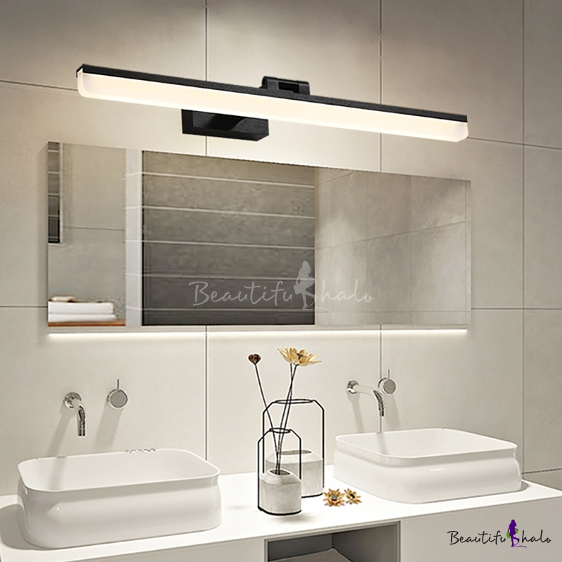 Bathroom Mirror Lighting Image Of