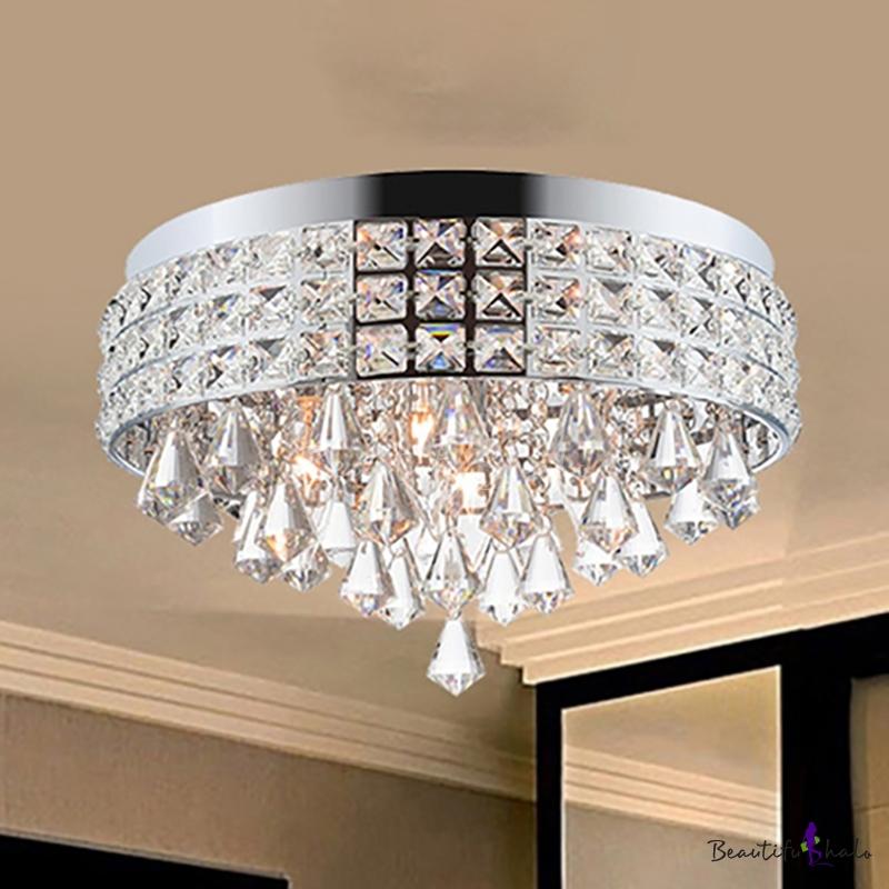 Sparkling Crystal Lighting Fixture